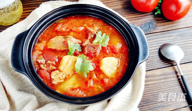好吃不止一点点,番茄土豆炖牛腩怎么煮