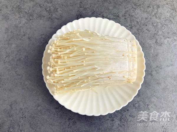 蒜蓉蒸金针菇的做法大全