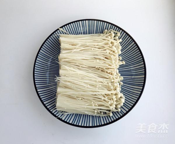 蒜蓉蒸金针菇的简单做法