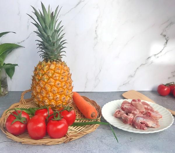 菠萝排骨的做法大全