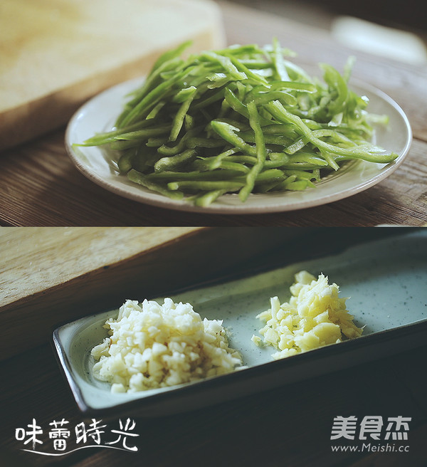 青椒炒肉的做法图解