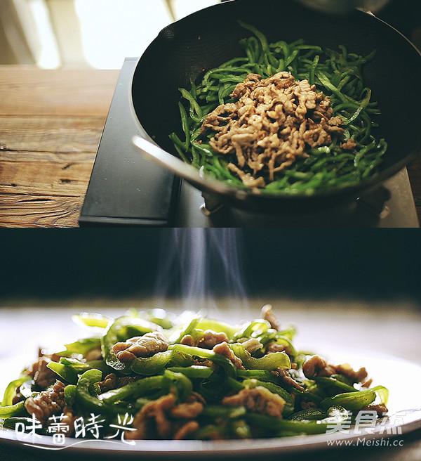 青椒炒肉的简单做法
