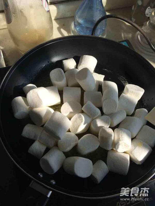 花生牛轧糖(棉花糖版)的做法图解
