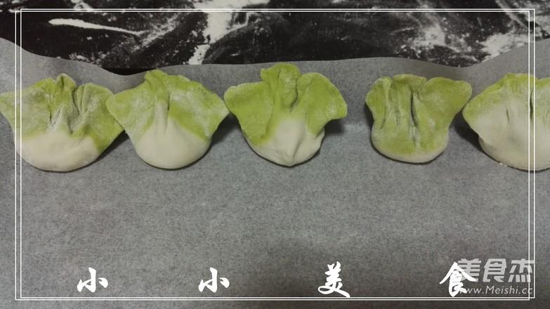 白菜翡翠饺子怎么炒