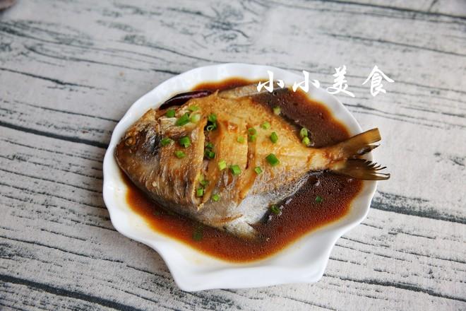 烧平鱼:滋味浓郁,肉嫩鲜美成品图