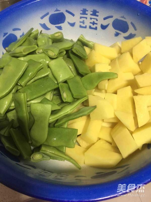 豆角土豆炖玉米的做法图解