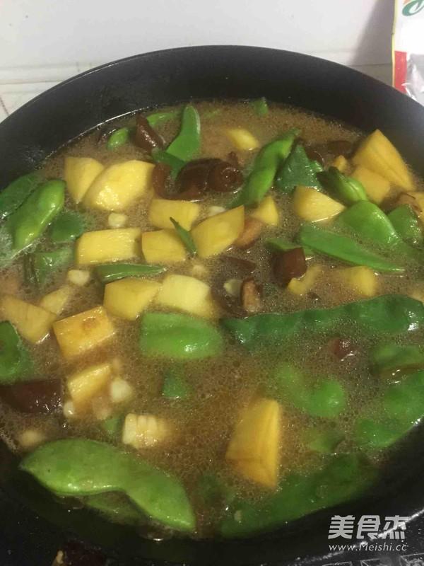 豆角土豆炖玉米怎么炒