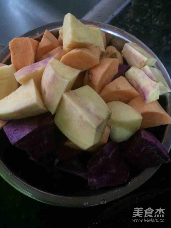 暖心紫薯腐竹糖水的做法大全