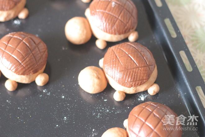 小乌龟面包怎么吃