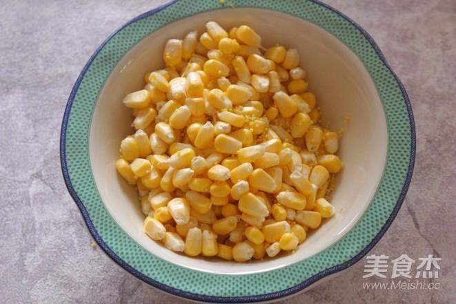 玉米吐司的做法图解