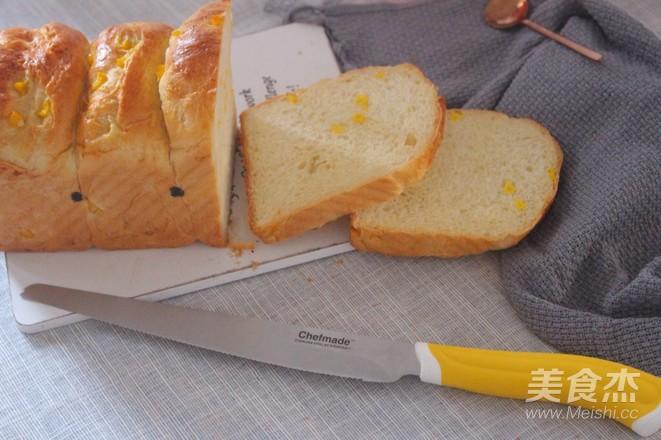 玉米吐司的做法大全