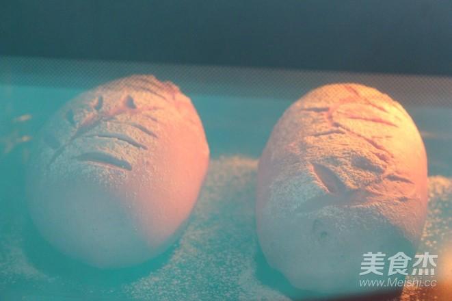 紫薯全麦麻薯软欧的做法大全