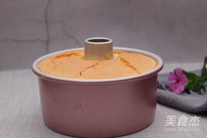 燕麦红枣戚风的制作方法