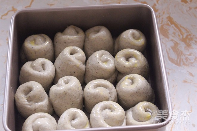 蜂蜜黑芝麻面包的制作方法