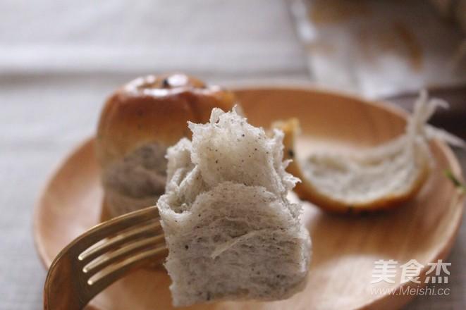 蜂蜜黑芝麻面包的做法大全