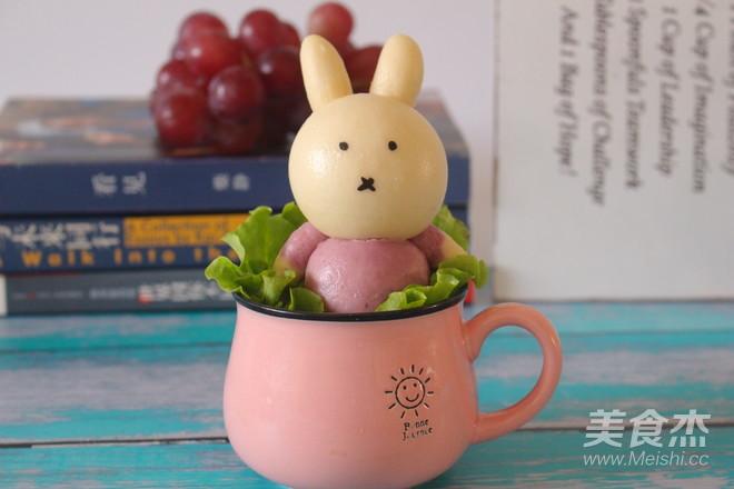 米菲兔馒头的做法大全