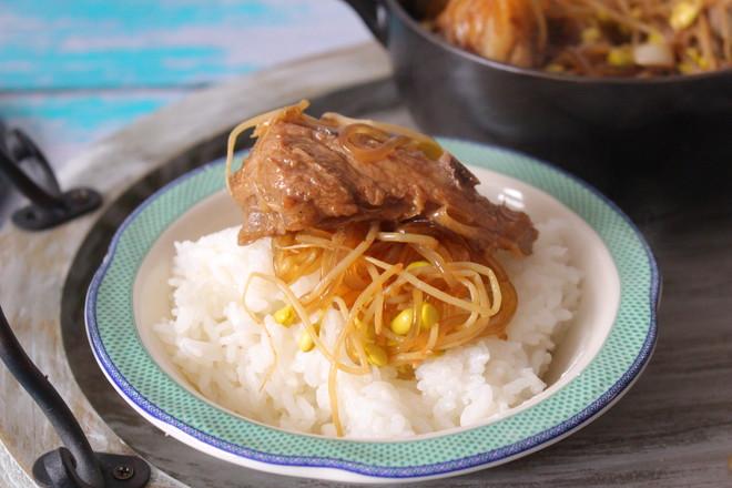 猪骨黄豆炖粉条的做法大全