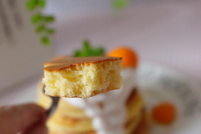 原味松饼成品图