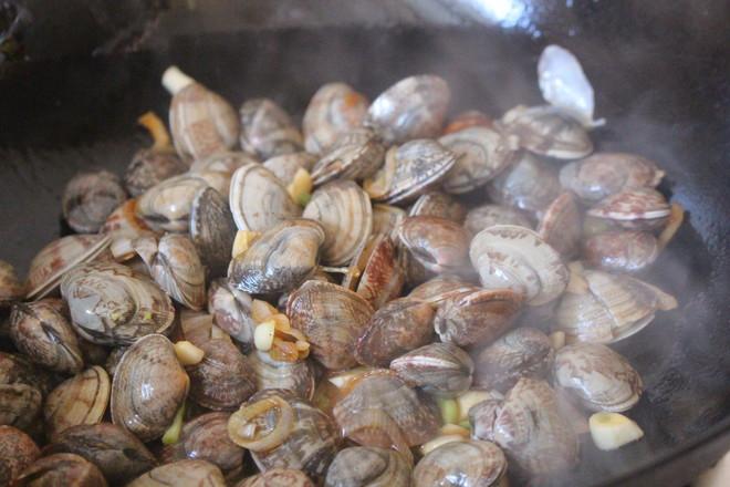 香炒蛤蜊怎么炒