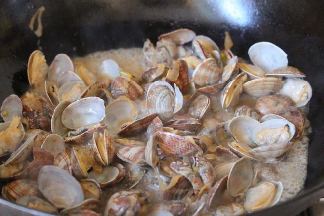 香炒蛤蜊怎么煮