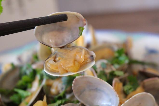 香炒蛤蜊成品图