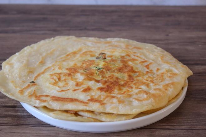 土豆丝鸡蛋卷饼的步骤