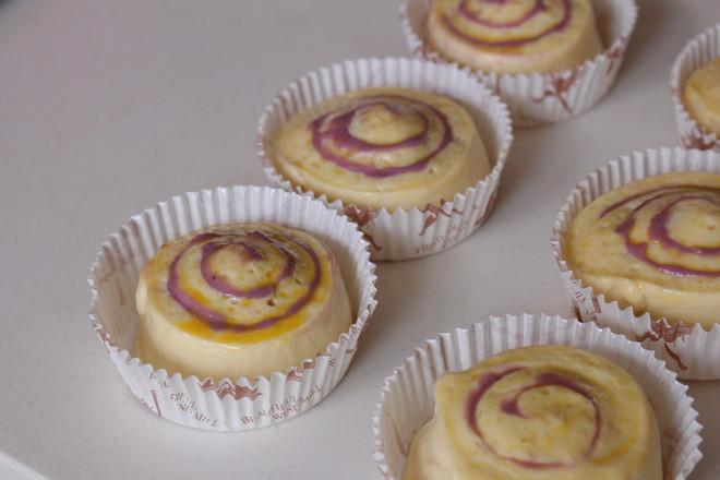 香芋紫薯面包卷怎样炒