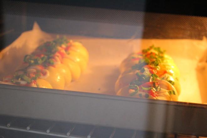 南瓜香肠面包的制作方法
