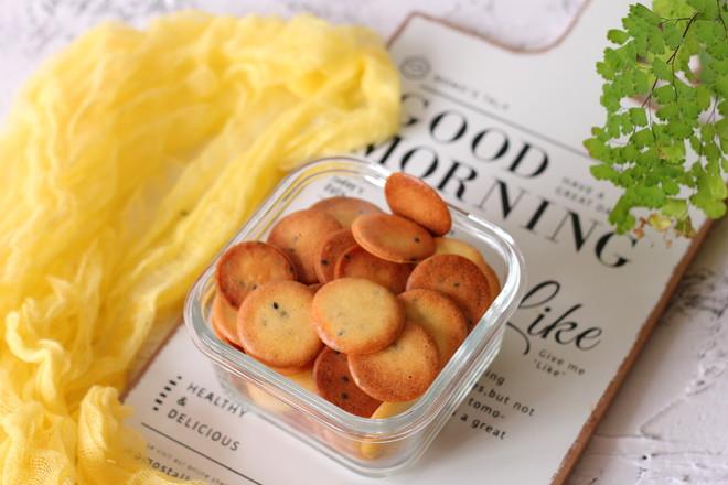 鸡蛋芝麻酥脆饼干怎样煮