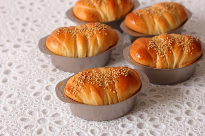 乳酪面包卷的制作