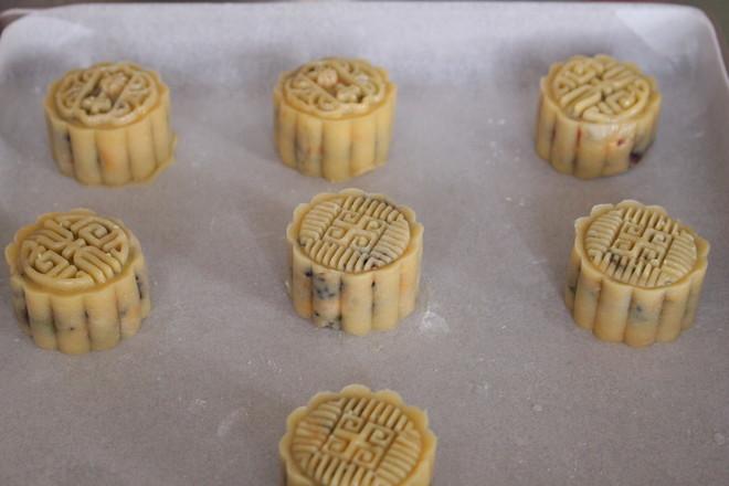 传统五仁月饼的制作方法