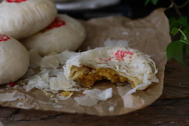 玫瑰酥饼的制作大全