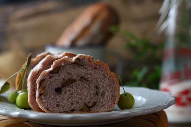紫薯坚果软欧的做法大全