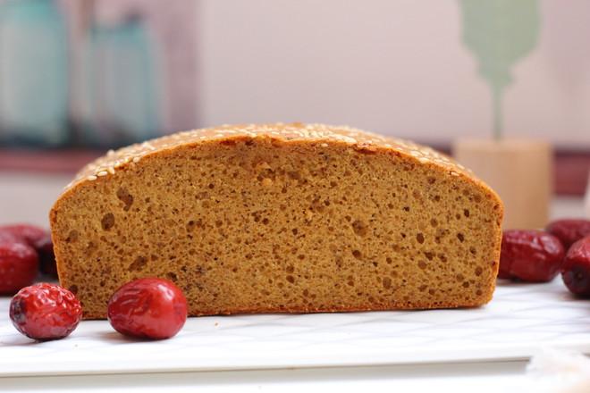 红枣糕成品图