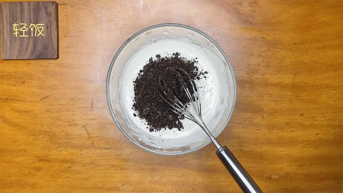 奥利奥酸奶冰淇淋丨香味浓郁无添加!的简单做法