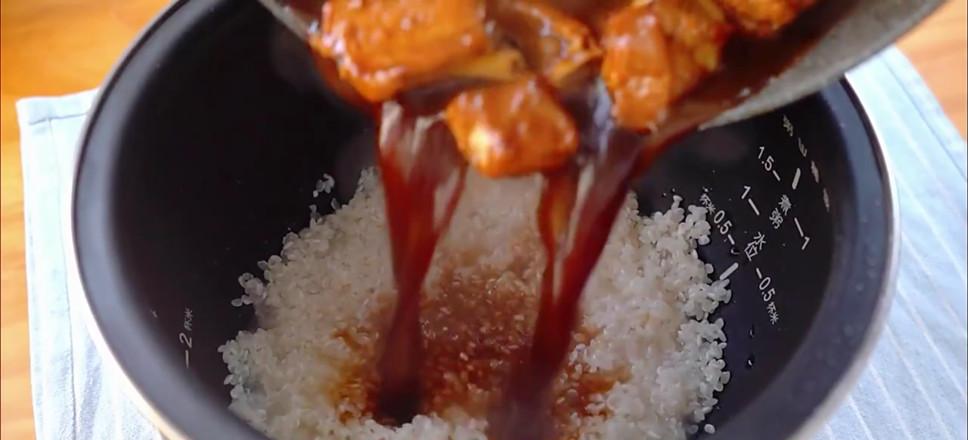 排骨焖饭怎么炒