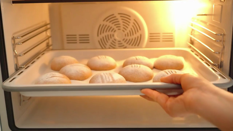 全麦面包的制作