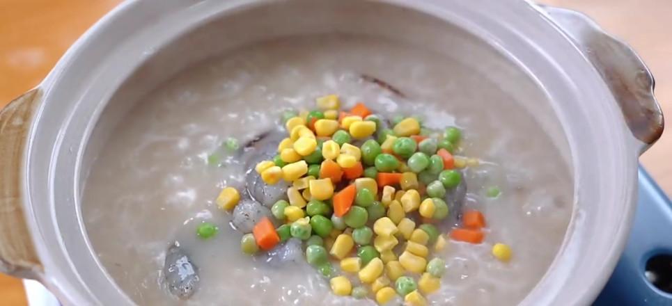 鲜虾粥怎么炒