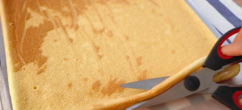 虎皮蛋糕卷的步骤