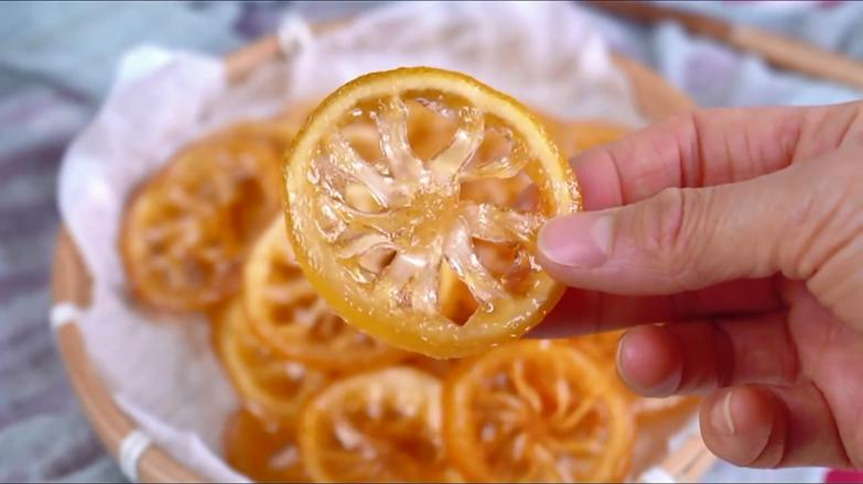 柠檬蜜饯成品图