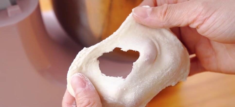 日式牛奶面包的步骤