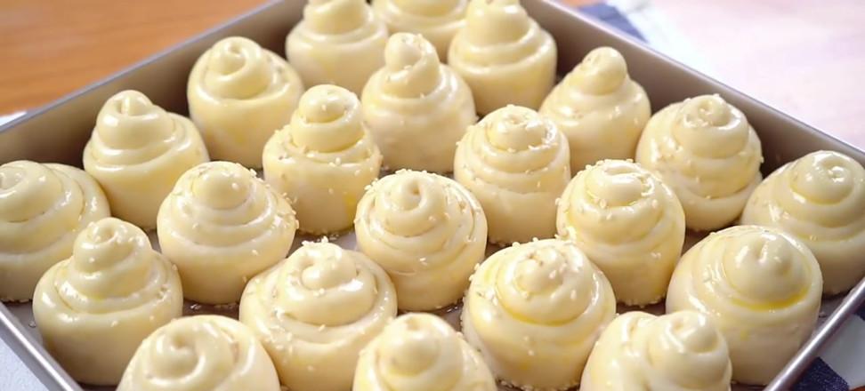 蜂蜜脆皮小面包的制作大全