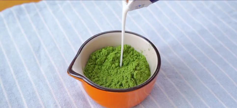 豆腐抹茶布丁的做法图解