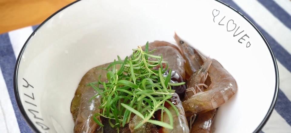 意大利风味烤虾的家常做法