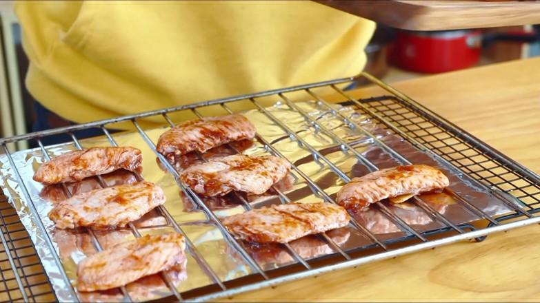 芝士烤鸡翅的家常做法