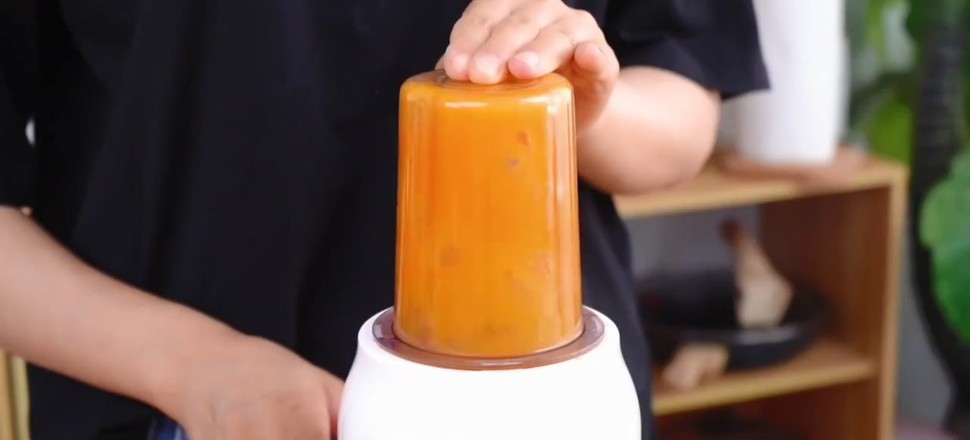 胡萝卜小花卷的做法大全