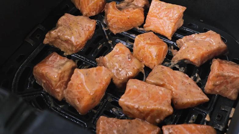 蜜汁三文鱼的简单做法