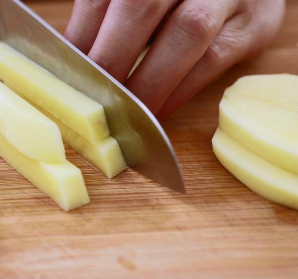 炸薯条的做法大全