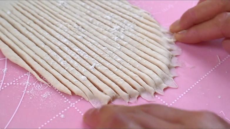 毛线球面包的步骤