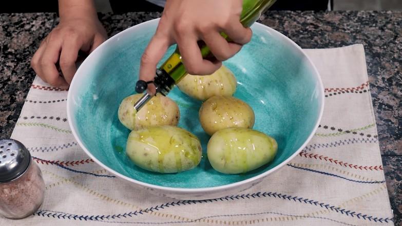 空气炸锅烤土豆皮的做法大全